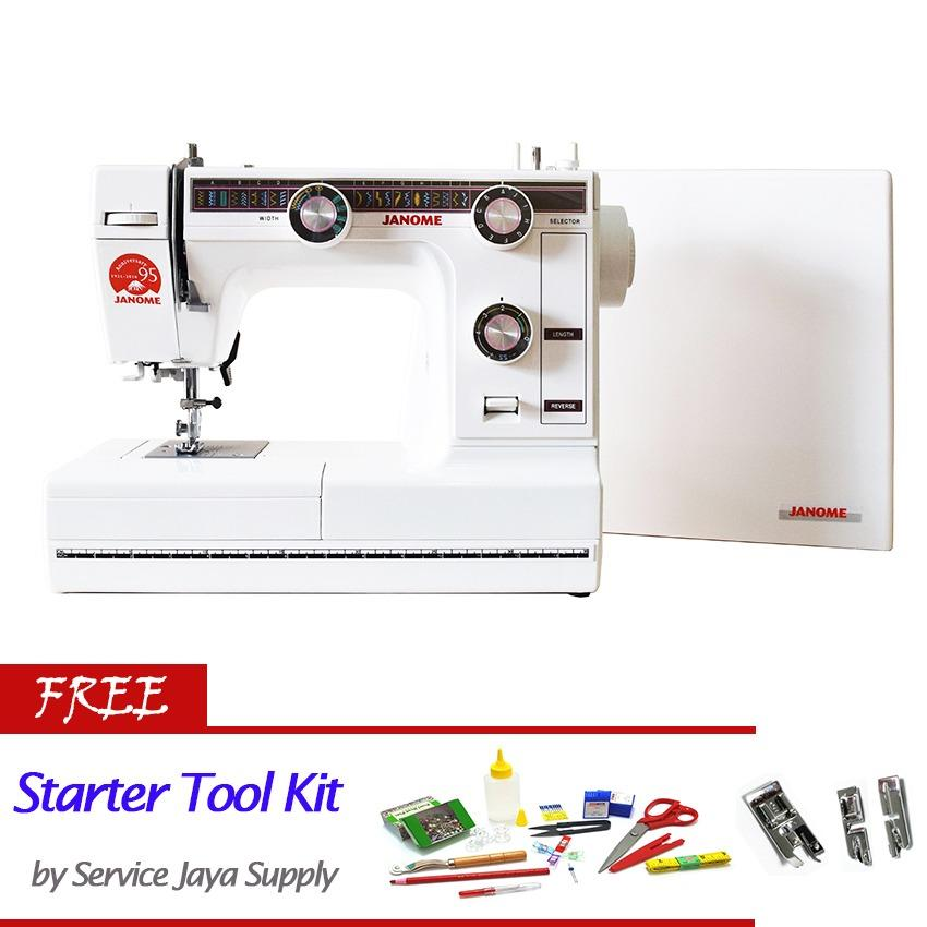 Jual Janome 380 Mesin Jahit Portable Free Sjs Starter Kit Termurah
