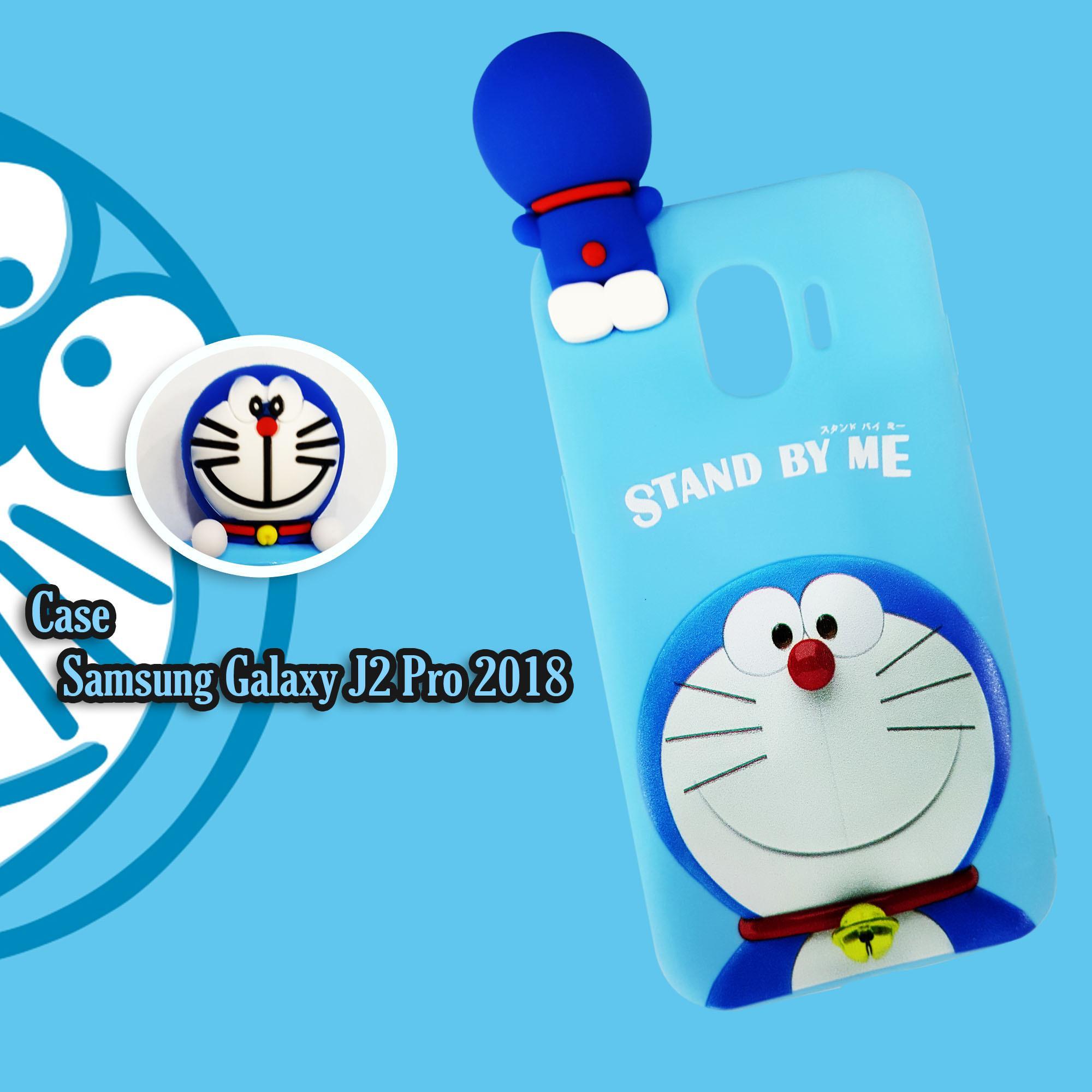 Cek Harga Baru Case Samsung Galaxy J2 Pro 2018 Doraemon Stand By Me