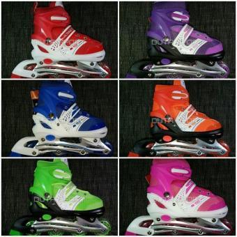 Harga Penawaran Sepatu Roda Anak Inline Skate FREE Baut Bajaj   sepatu roda  terbaru   sepatu 3eb0d59145