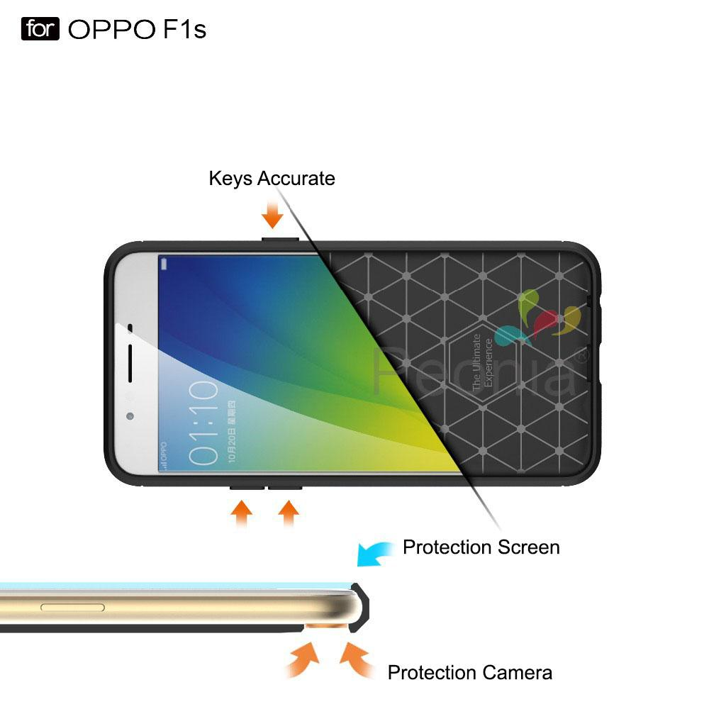 ... Peonia Carbon Shockproof Hybrid Premium Quality Grade A Case for Oppo F1s / A59 / A59S ...