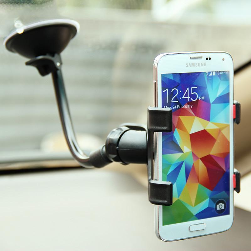 Detail Gambar Phone Holder Mobil Untuk HP / GPS + BONUS Flourish Lama Terbaru