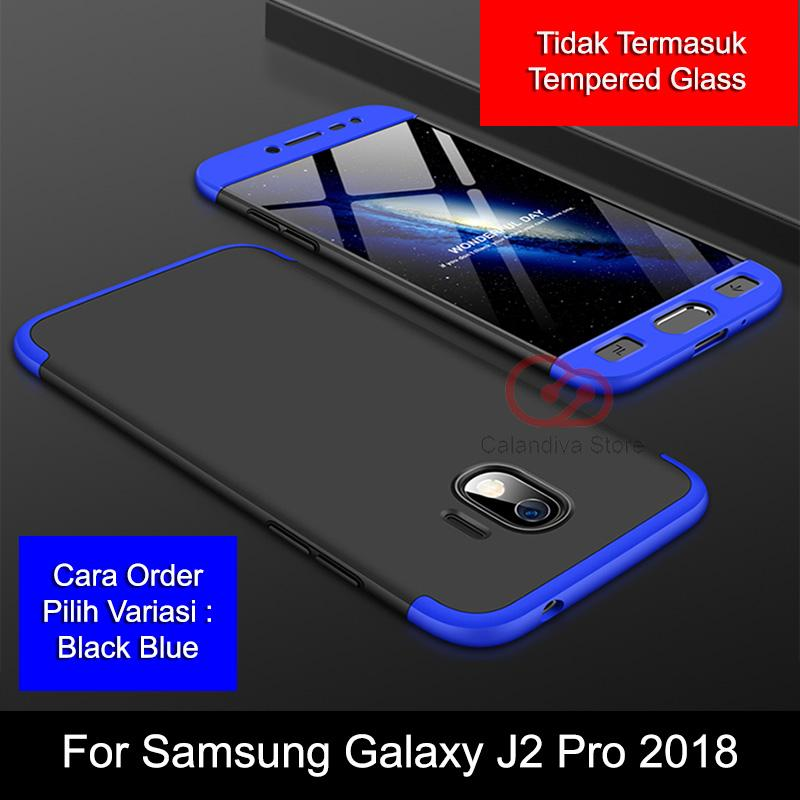 Calandiva Premium Front Back 360 Degree Full Protection Case Quality Grade A for Samsung Galaxy J2