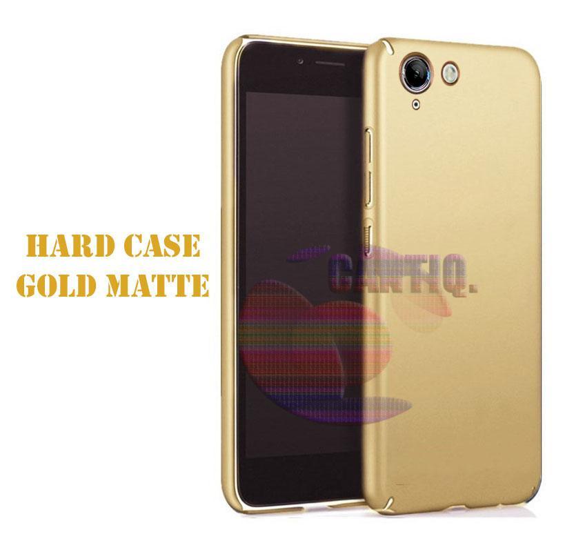 Case Vivo V5 Lite Hard Slim Gold Mate Anti Fingerprint Hybrid Case Baby Skin Vivo V5