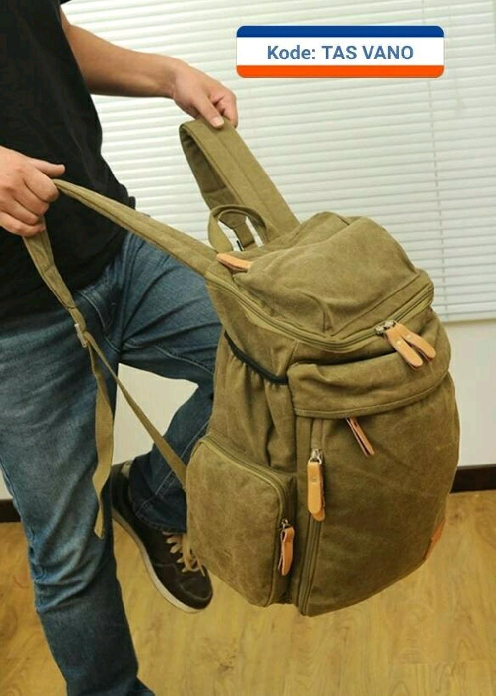 tas ransel pria wanita - tas backpack import - tas punggung murah kekinian - tas batam branded - tas sekolah laptop di lapak pelangi_bag bagusia08