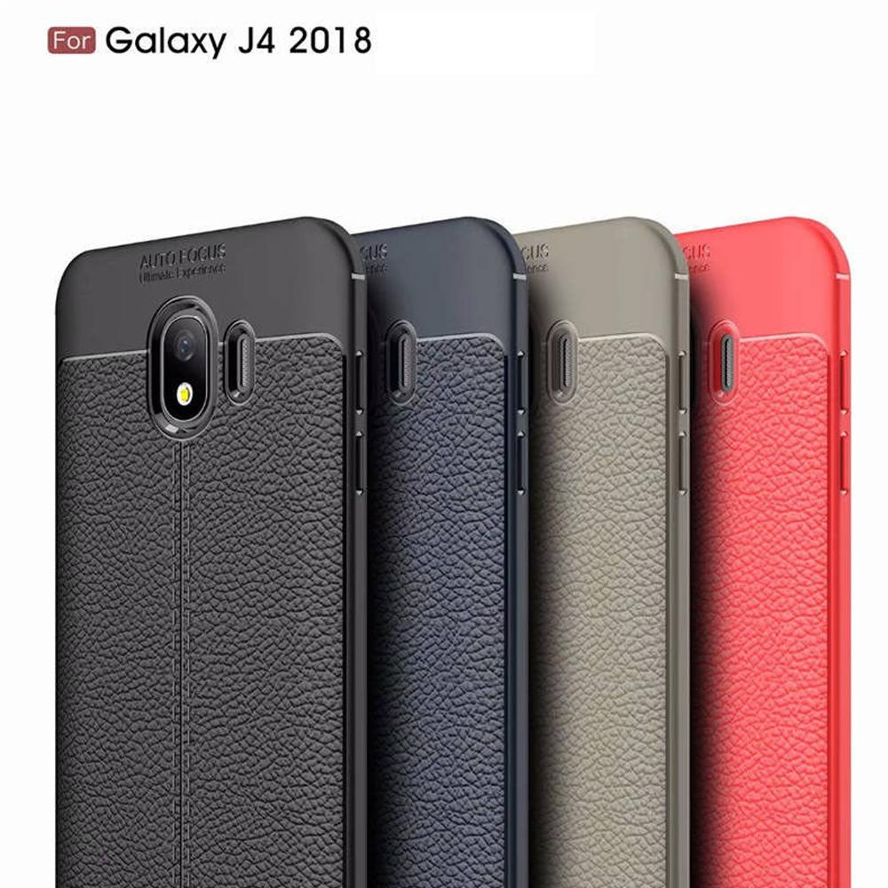 ... Case Auto Focus Samsung Galaxy J4 2018 Leather Experience Slim Ultimate - 3