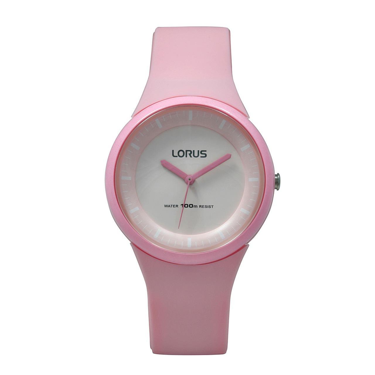LORUS Jam Tangan - Pink - Silicon - RRX25FX9