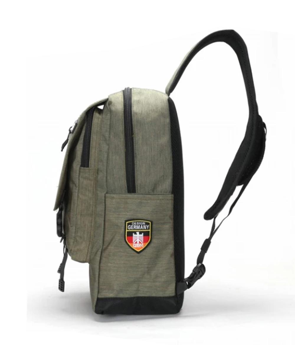... Waistbag Quedoor tas sling bag pria polo gem 901 Tali Satu - abu - 3 ...