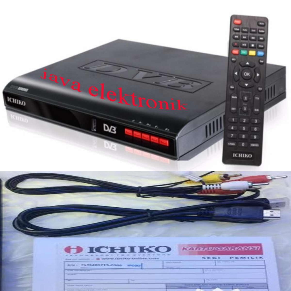 Ichiko DV 8000HD Set Top Box DVB T2 Tv Digital Receiver