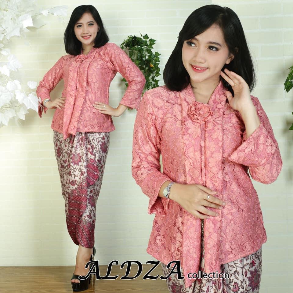 Setelan Kebaya baju batik tradisioanal/kebaya modern/kebaya kutu baru floy brukat/kebaya