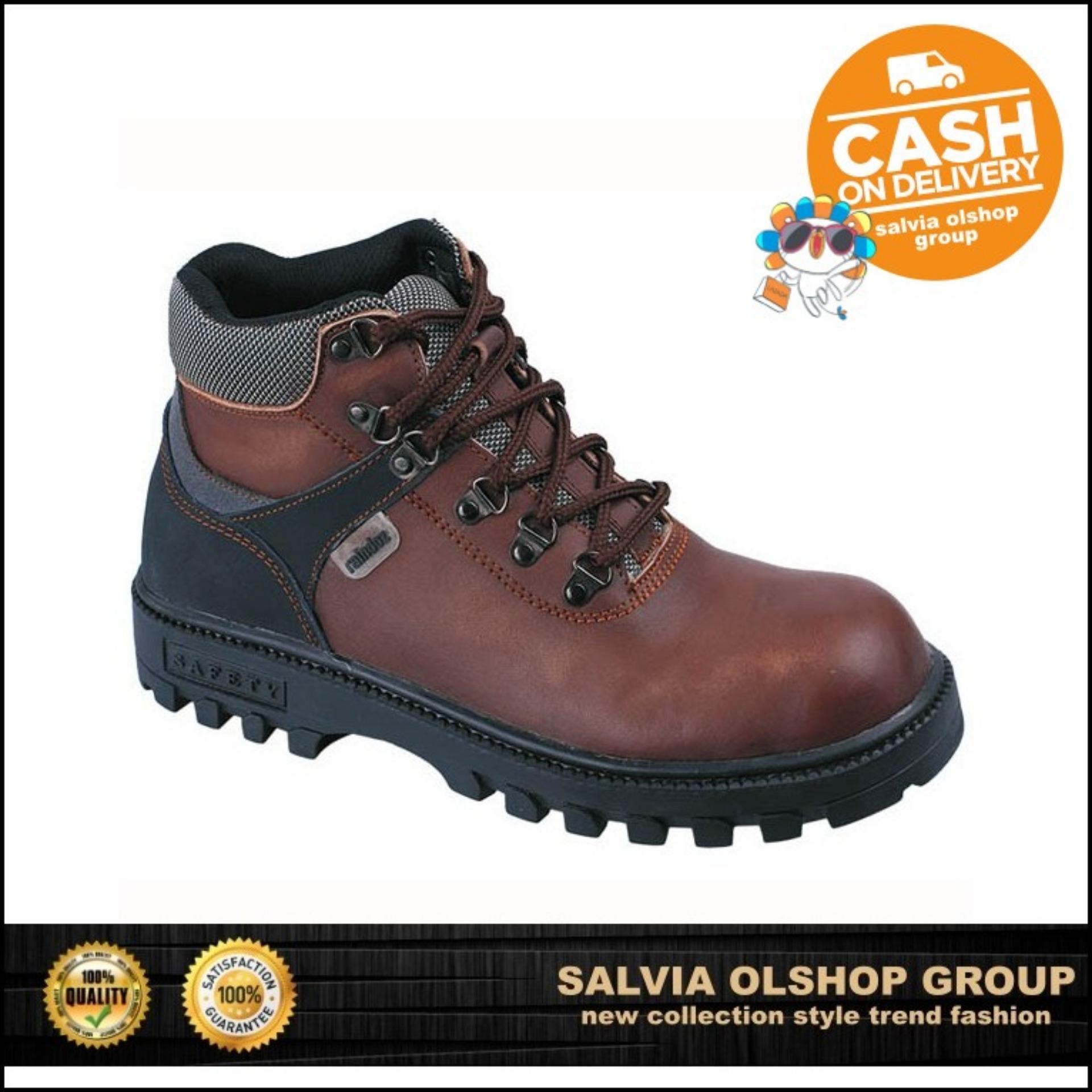 Raindoz Sepatu Hiking Keren Dan Kuat Serta Berkualitas RLI 012 - Coklat 78929de97f