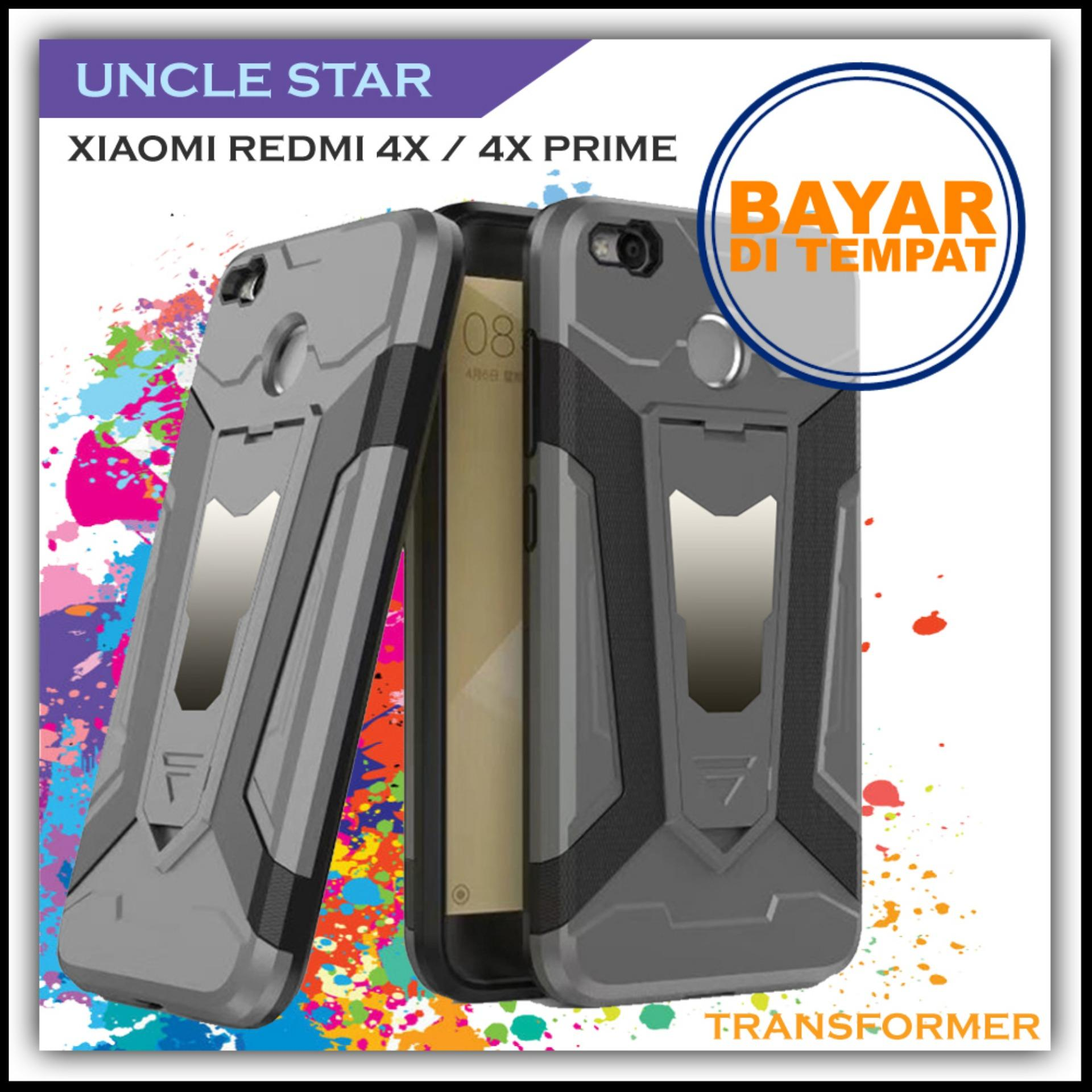 Uncle Star -HARDCASE For Xiaomi Redmi 4X / 4X Prime Pro Robot Transformer Ironman Limited