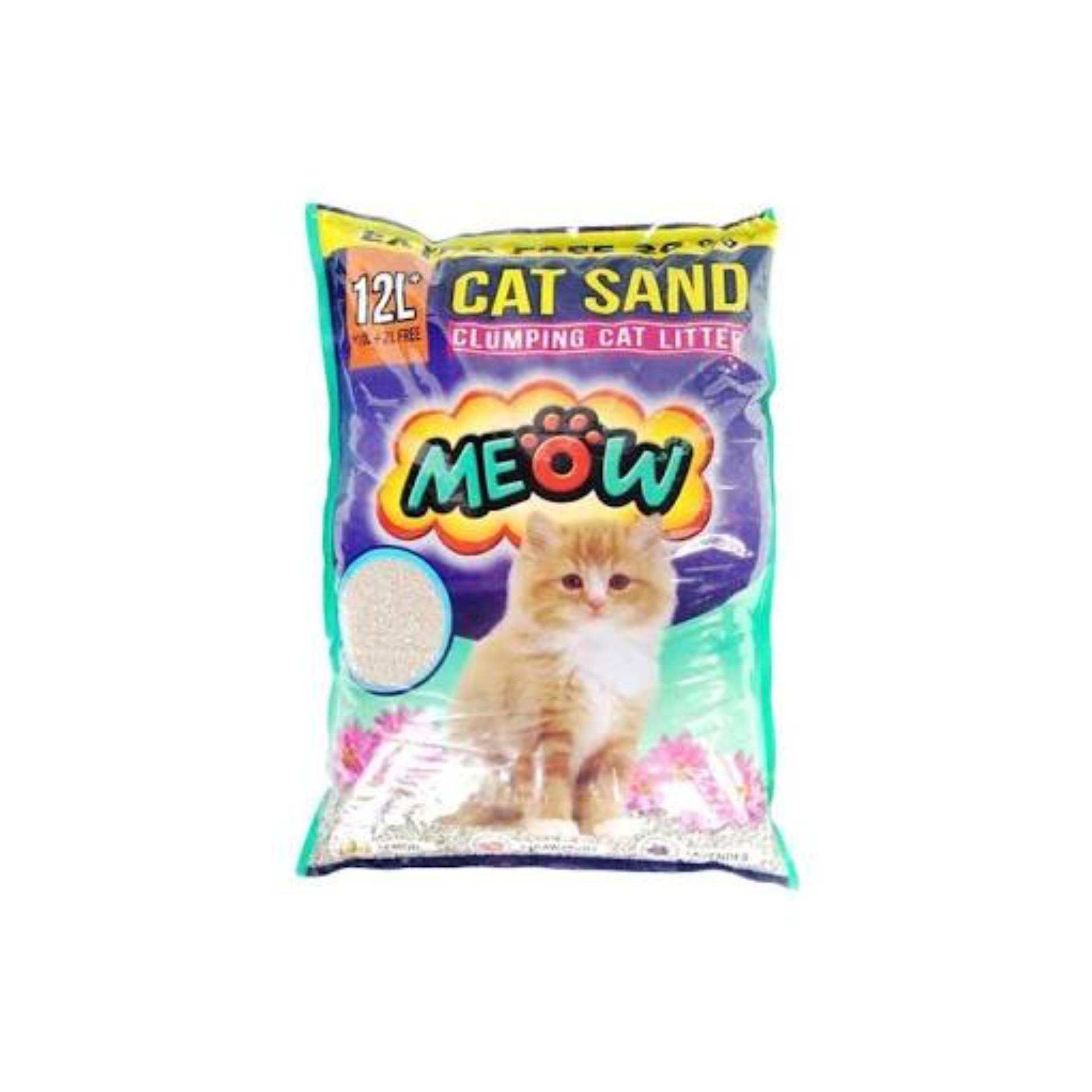 Spesifikasi Pasir Wangi Kucing Gumpal Meow 12 Liter Yg Baik