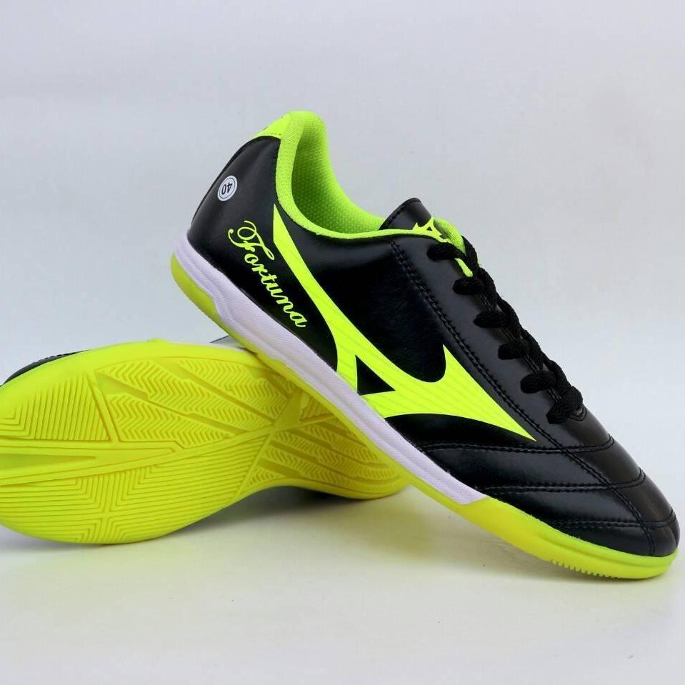 Mizuno Futsal Fortuna - Sepatu Futsal Pria Mizuno Monarcida FS IN Sepatu  Futsal - Yellow  ec87d1b318