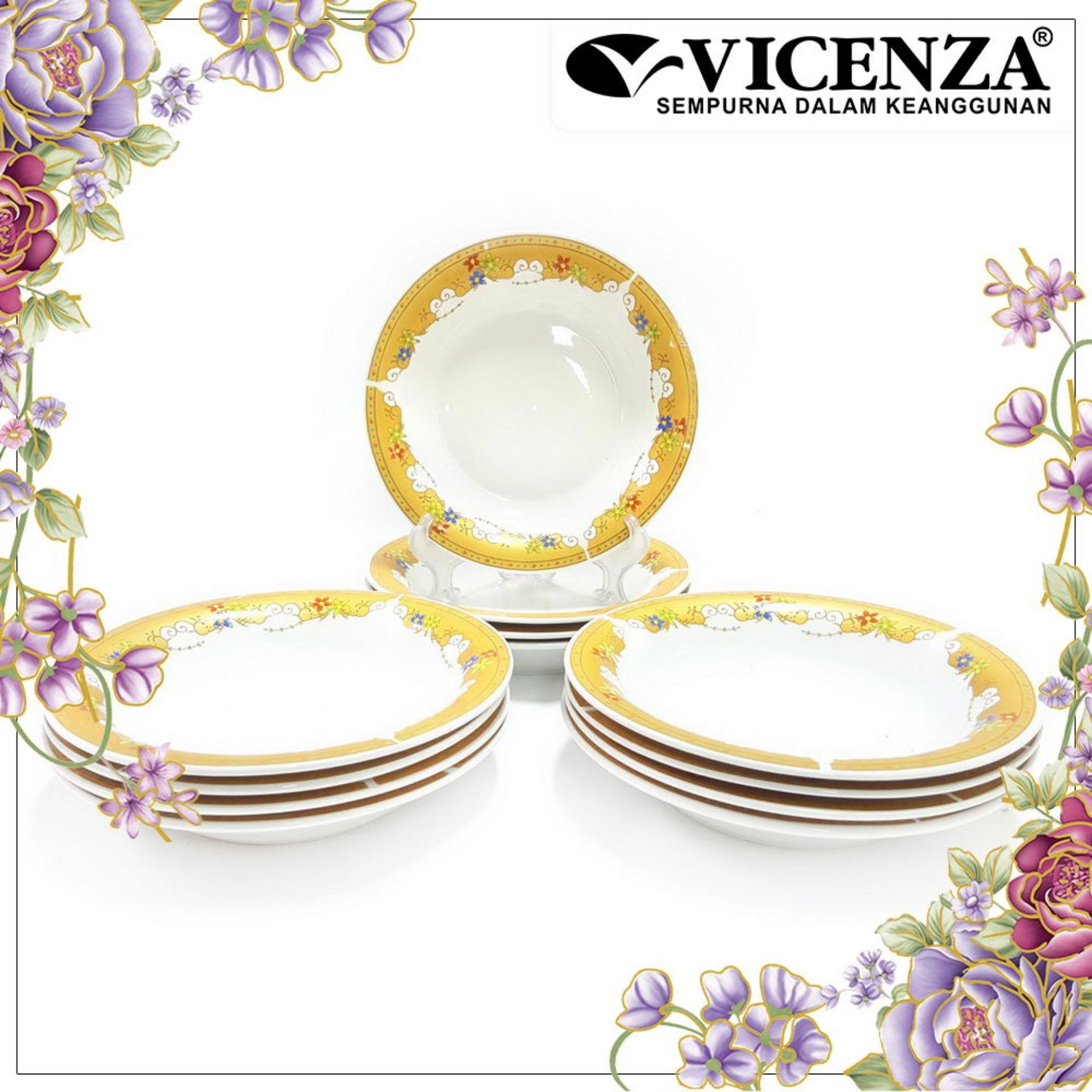 Spesifikasi Vicenza Tableware P131 Piring Makan Dinner Plate Bagus