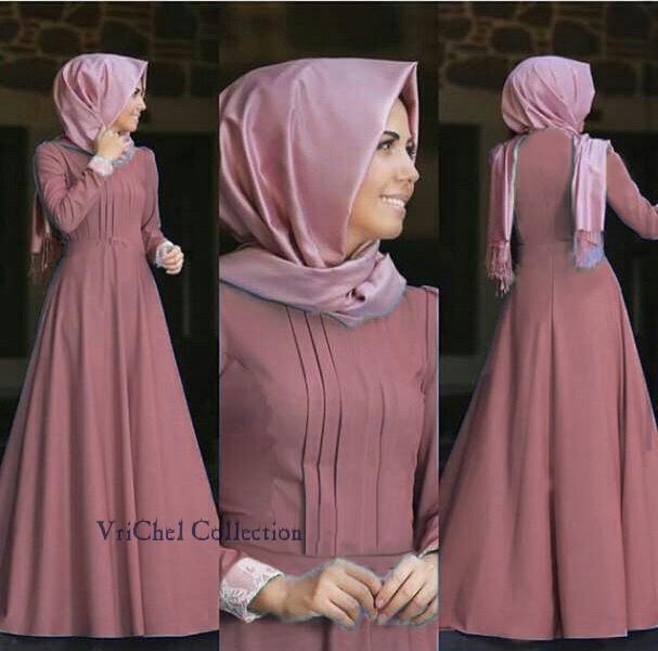 Vrichel Collection Maxi / Dress / Gamis / Hijab / Maxi Dress Rossi
