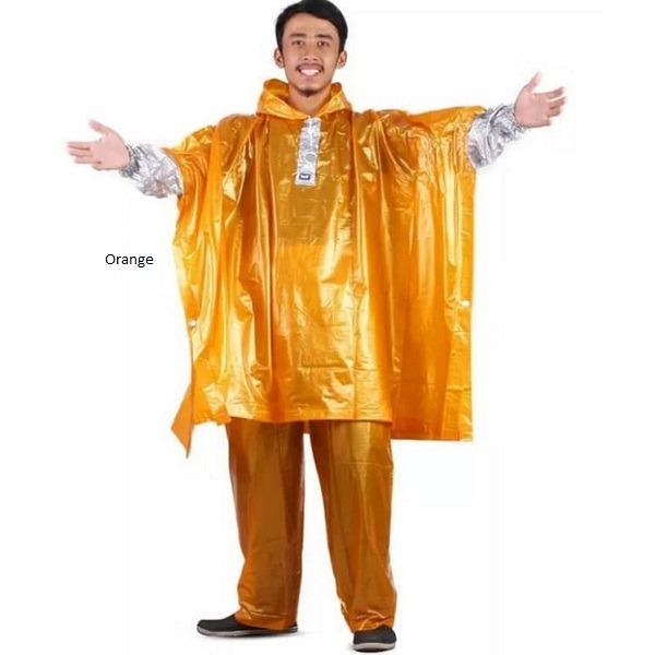 Jas Hujan Poncho Lengan Celana Plevia Nautilus 734 Batman Ponco Orange Dki Jakarta Diskon 50