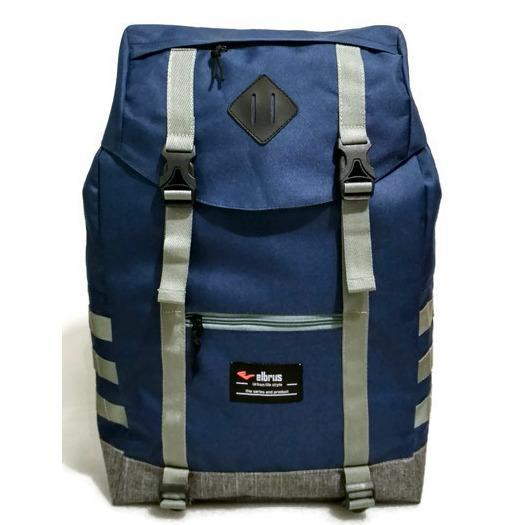 Jual Tas Ransel Fashion Pria Tas Backpack Daypack Tas Kuliah Sekolah Tas Ransel Elbrus Murah Di Jawa Barat