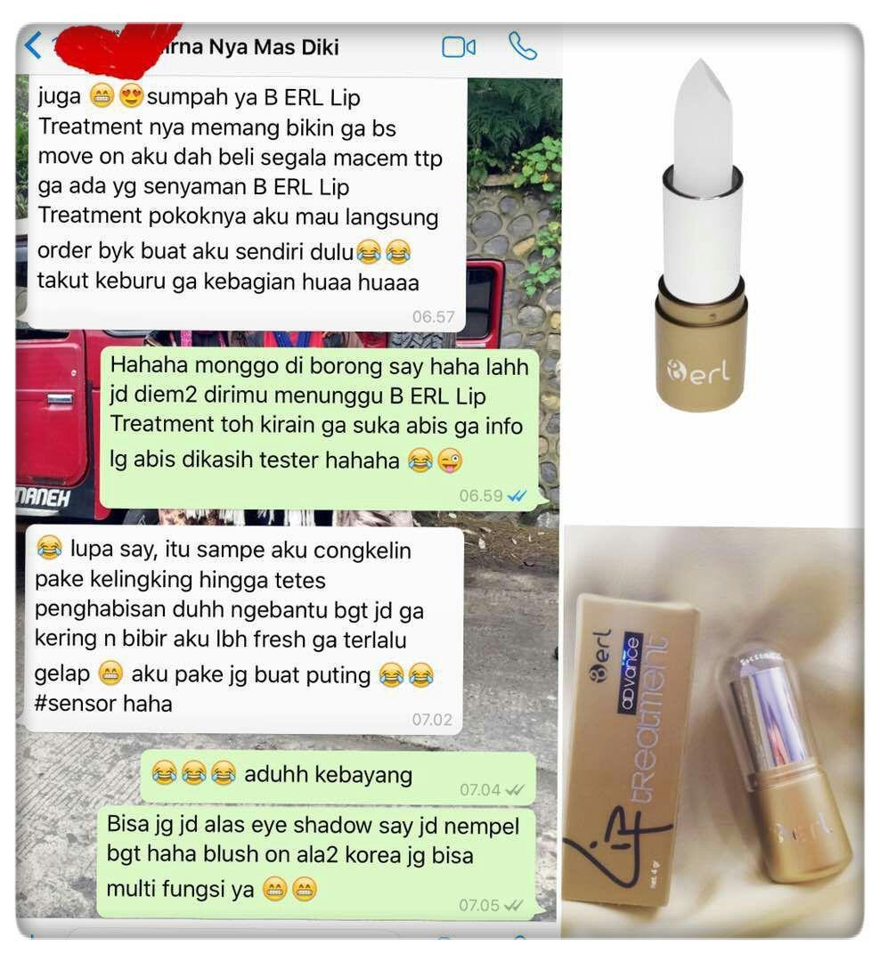 Features B Erl Advance Lip Balm Treatment Intense Dan Matte Cream