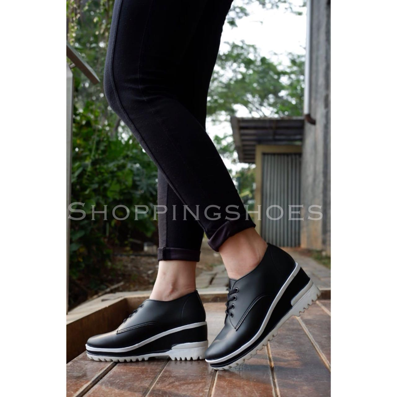 Shoppingshoess realpict Carney Classic White / BLACK