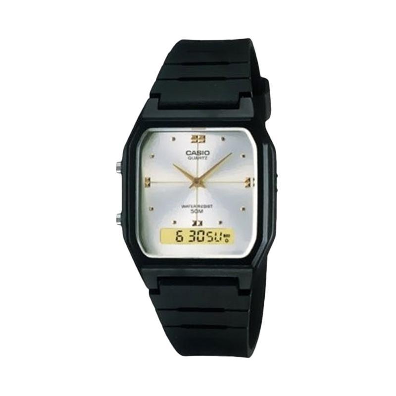 Casio Man Combination AW-48HE-7AVUDF Putih Jam Tangan Pria