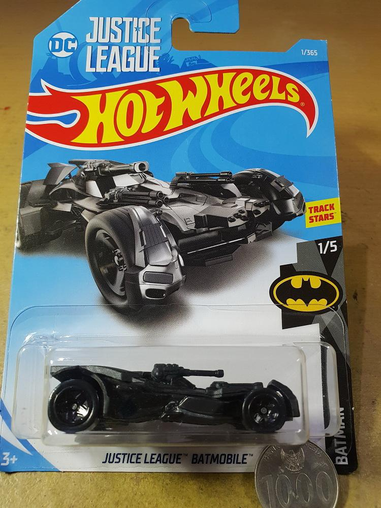 Hot Wheels JL Justice League Batmobile Batman Sangat Super Rare