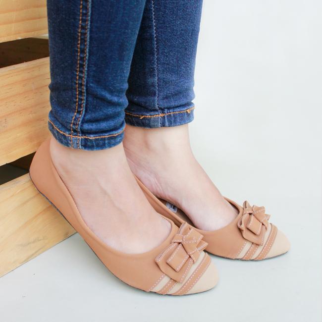 Sepatu Wanita Flat   Sepatu Sendal Wanita Flat   Sepatu Wanita Flat Shoes    Sepatu Sendal fe79886230