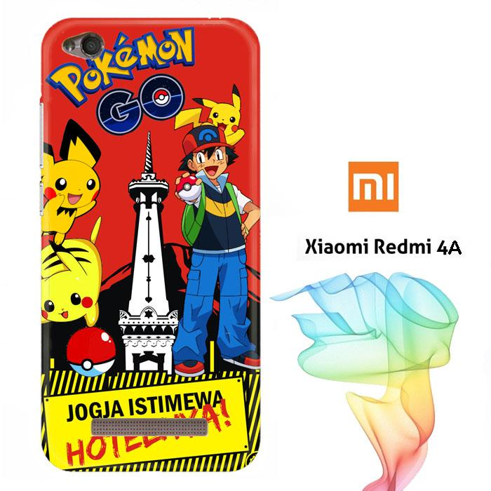 POKEMON JOGJA W3970 Casing Redmi 4A Full Body Print 3D Case