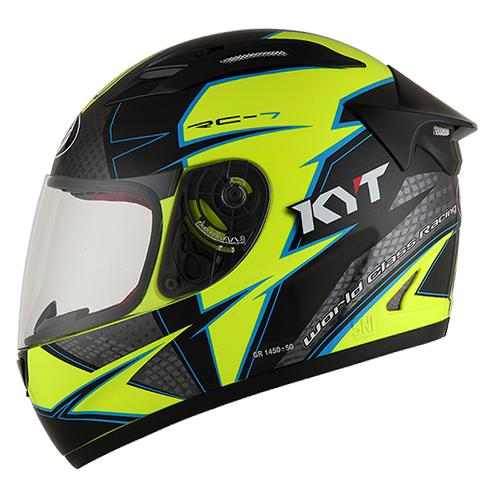 KYT-RC Seven #16 Helm Full Face - Warna Motif