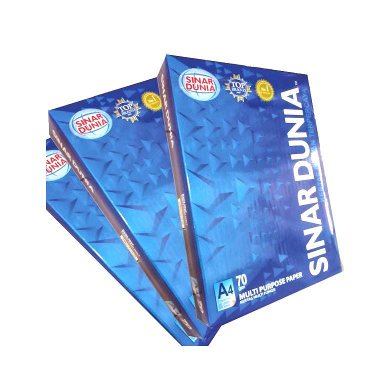 HVS kertas A4 70 gram SIDU (Sinar dunia)murah