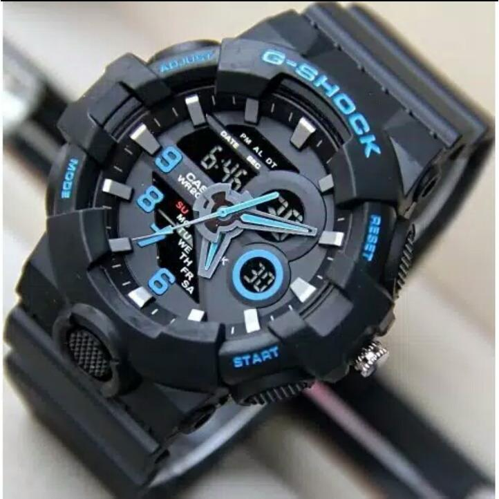 Jam Tangan Fashion Pria Gshock GA500 Series Water Resist 30M
