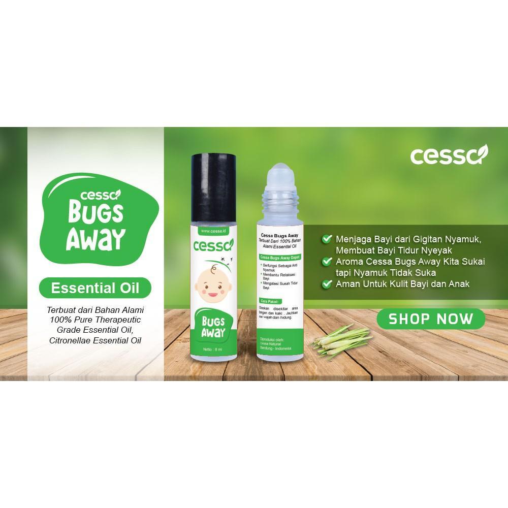 Features Cessa Bugs Away Lotion Bayi Menjaga Dari Gigitan Fever Drop Essential Oil Penurun Demam Dan Anak Nyamuk 4