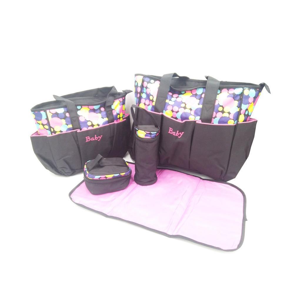 Promo Toko Tas Bayi Baby Bag 5 In 1 Motif Polkadot