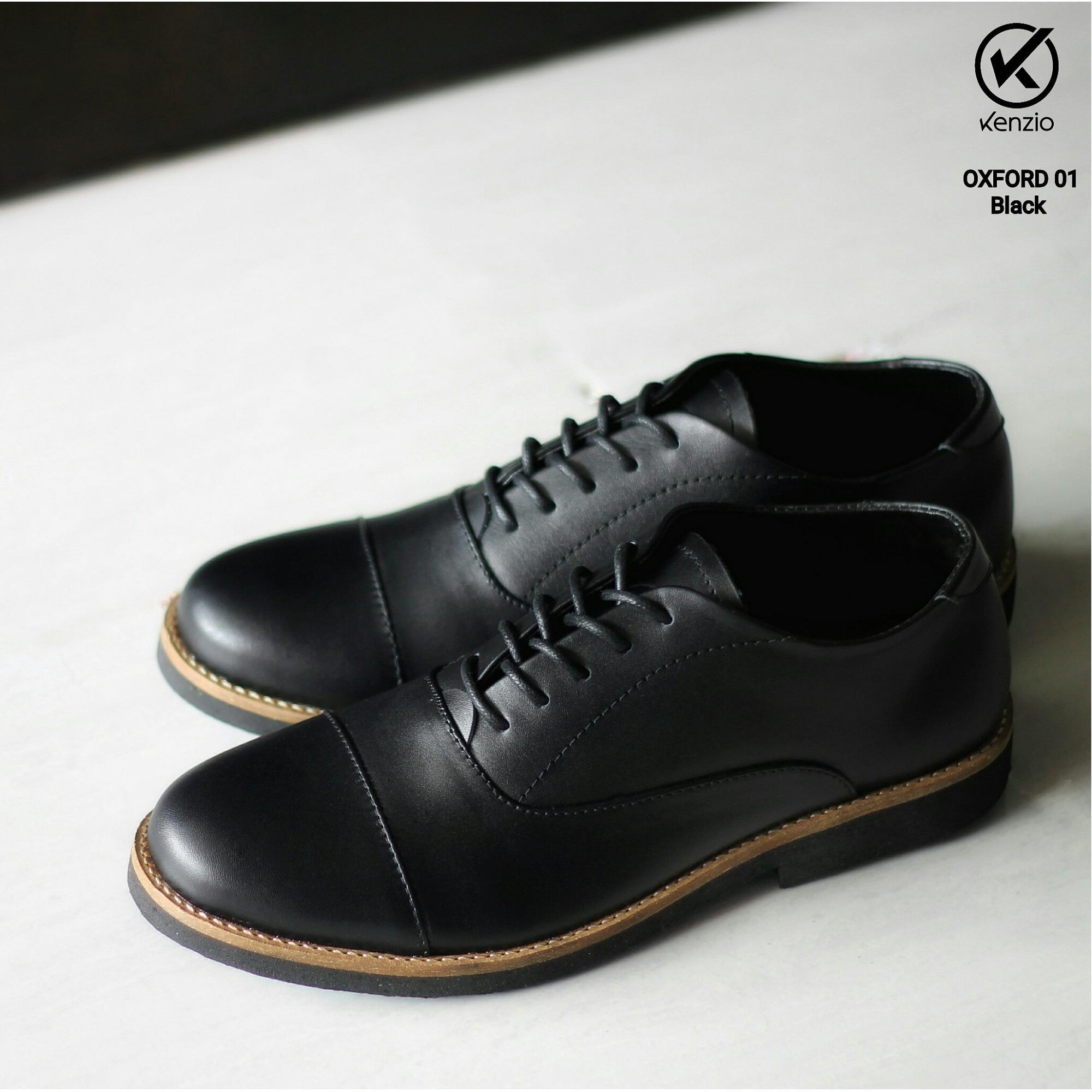 Fitur Sepatu Pria Formal Acara Resmi Casual Kulit Asli Temali Kenzio Ter Boots Humm3r Underground Detail Gambar Oxford 01 Hitam Terbaru