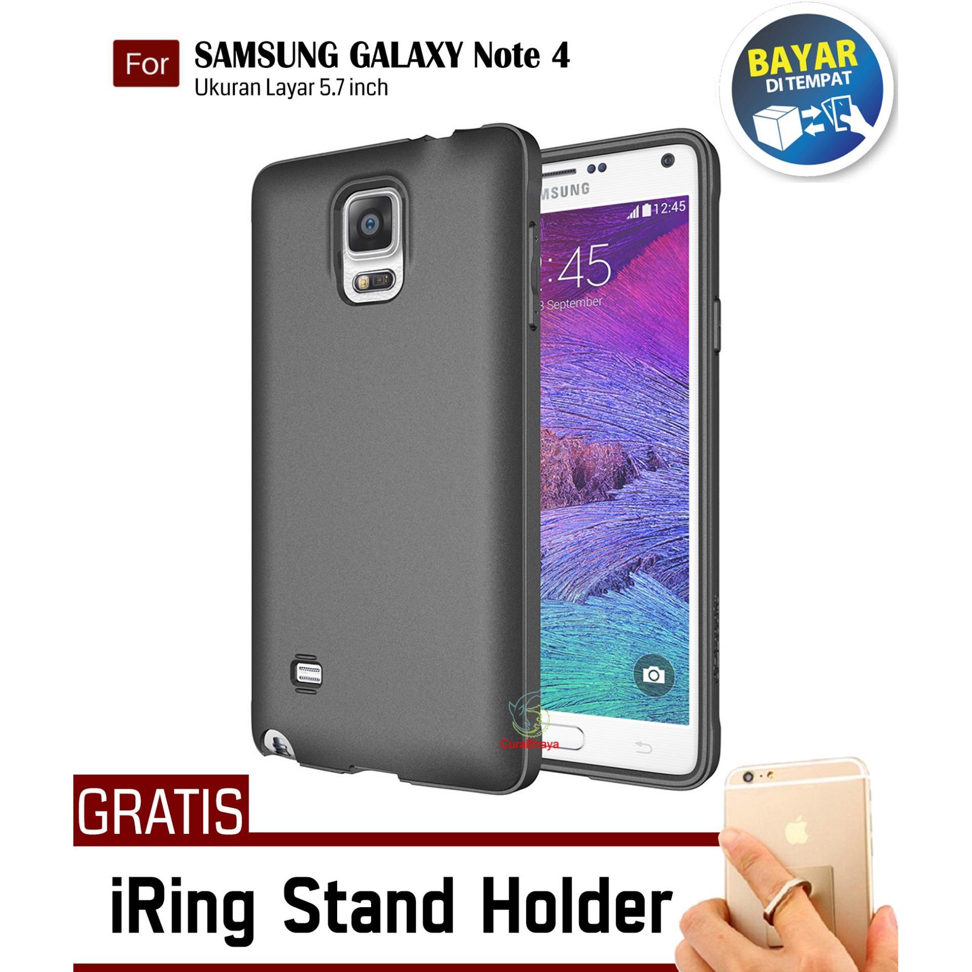 MidNight Samsung Galaxy Note 4 / N910 / LTE / Duos | Slim Case Black Matte