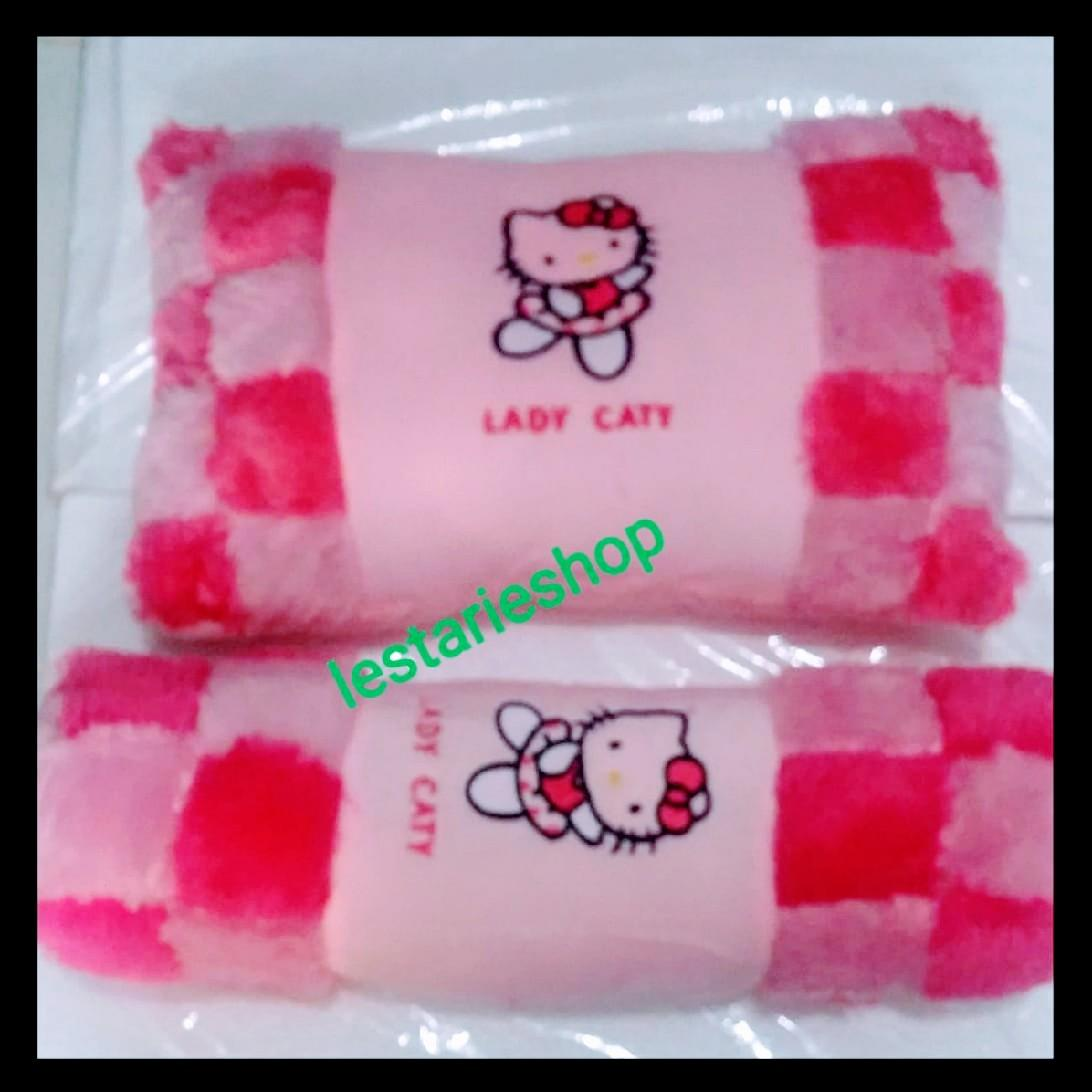 bantal boneka hello kitty/bantal anak /bantal lucu/boneka hello kitty/mainan anak boneka