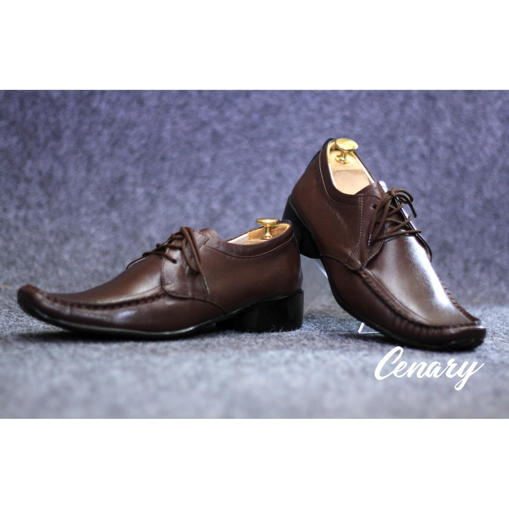 YAHLAMU - Sepatu Pantofel Formal Kulit CVNY ALAN Pria / Sepatu kerja / Kickers / Bally / Yongki/ CEVANY