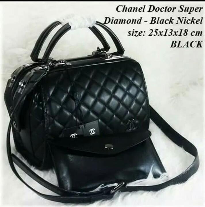 Tas Handbag Chanel Doctor Super Diamond   Tas Handbag Doctor Chanel 0ca09ef9ab