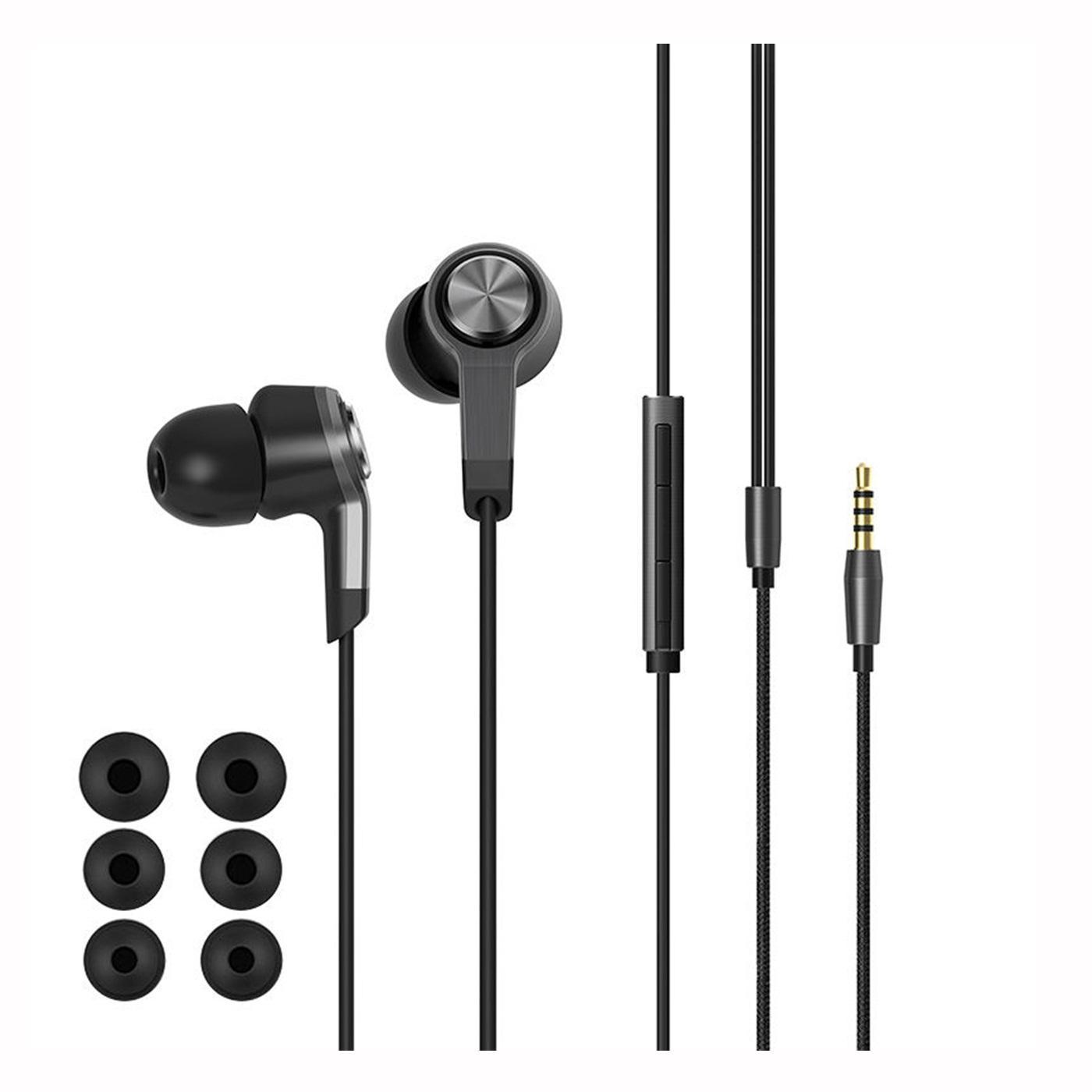 Fitur Xiaomi Headset Hanfree Headphones Piston 3rd Black Generation 3 Colorful Edition Earphone Original Hitam 4