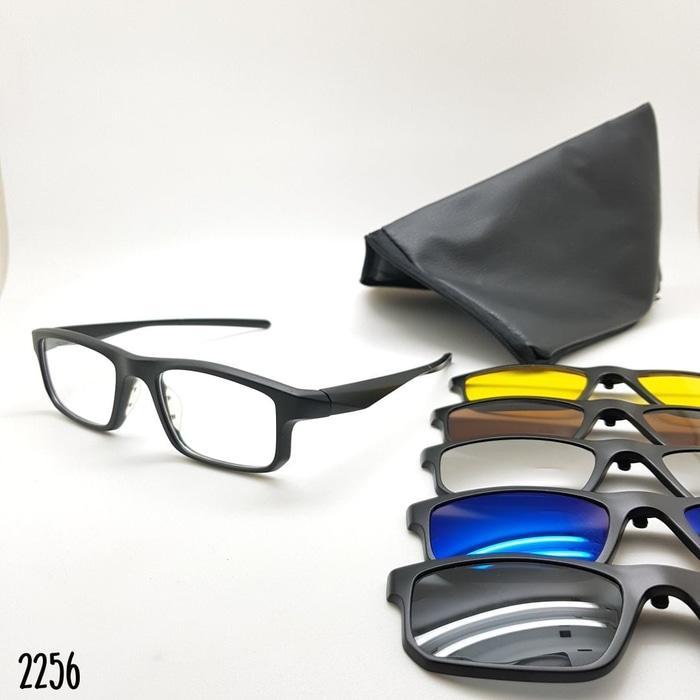 Kelebihan Frame Kacamata Ox Voltage Clip On Klip On 5 Lensa Black ... 3a0d5dfb2a