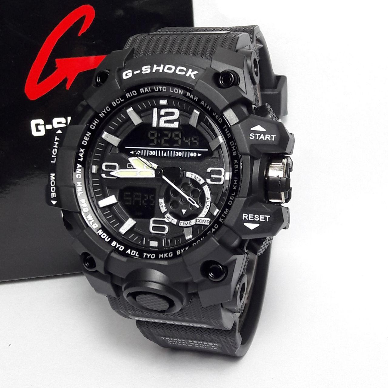 Jam Tangan fashion/sport Pria G - Shock -DUALTIME