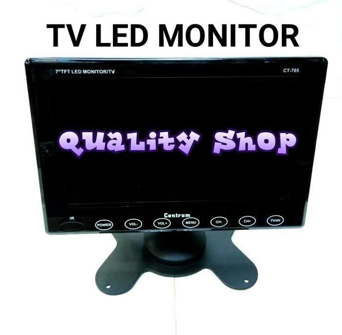 ORIGINALS  TV LED MONITOR CENTRUM 7 INCH BARU