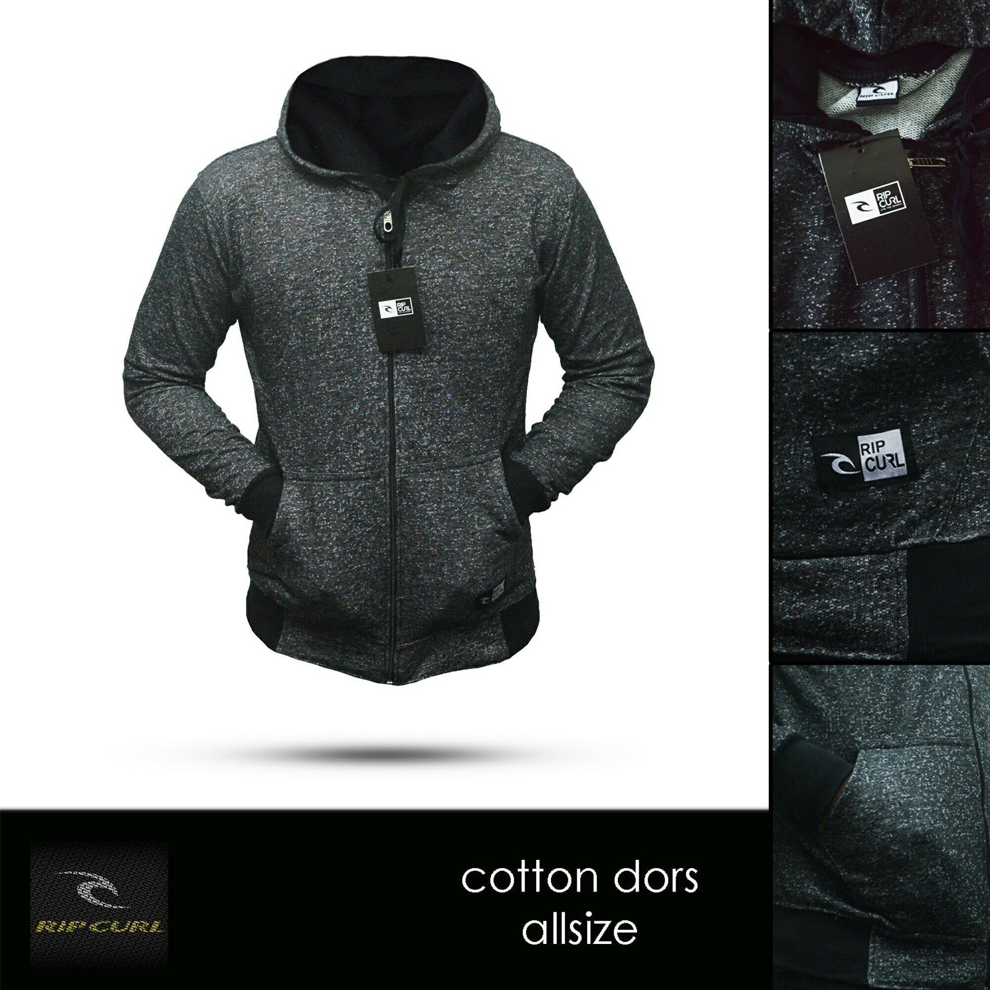 Jaket hoodie zipper Ripcurl Abu Series