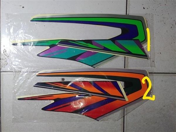 Striping lis&Stiker Body&Stiker Motor RxKing Rxk 97 - 2
