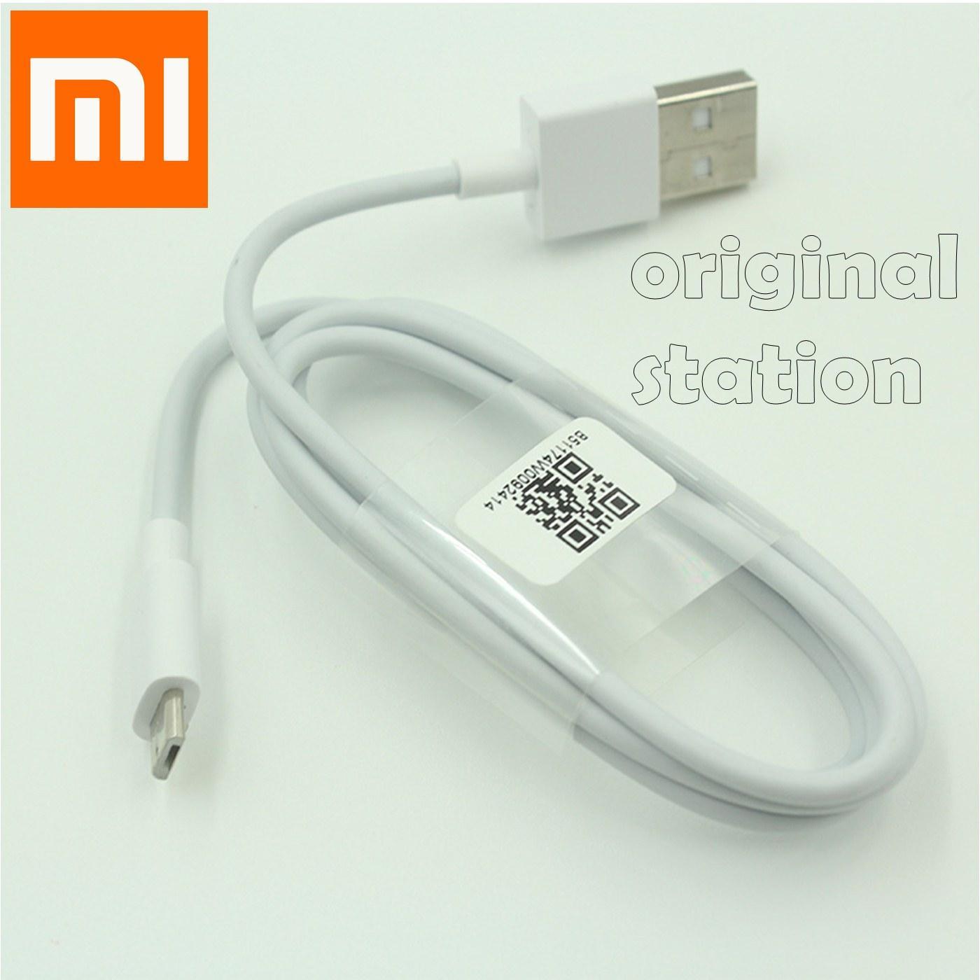 Xiaomi Kabel Data Micro USB 2A Sync Data Fast Charging (Pengisian Cepat) Putih