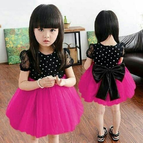 Xavier dress anak 2-3 tahun / Dress Anak Cewek Perempuan Baju Pesta Kondangan / baju pesta anak /  Dress Pesta anak /Dress Shantu Kids merah fanta /baju anak cewek / setelan anak