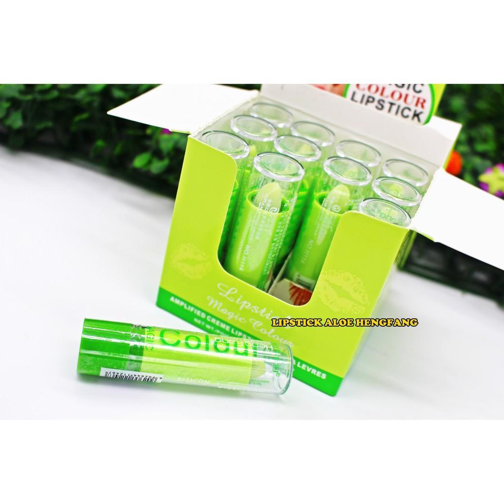 Lipstick Aloe Hengfang / Lip Balm / Lip Stick Lidah Buaya Heng Fang