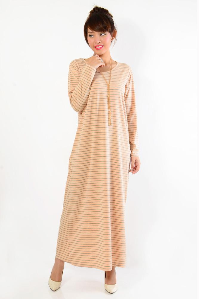 Dress overall jeans panjang gamis wanita jumbo long dress Juwina. Source · Blessing-19102016B