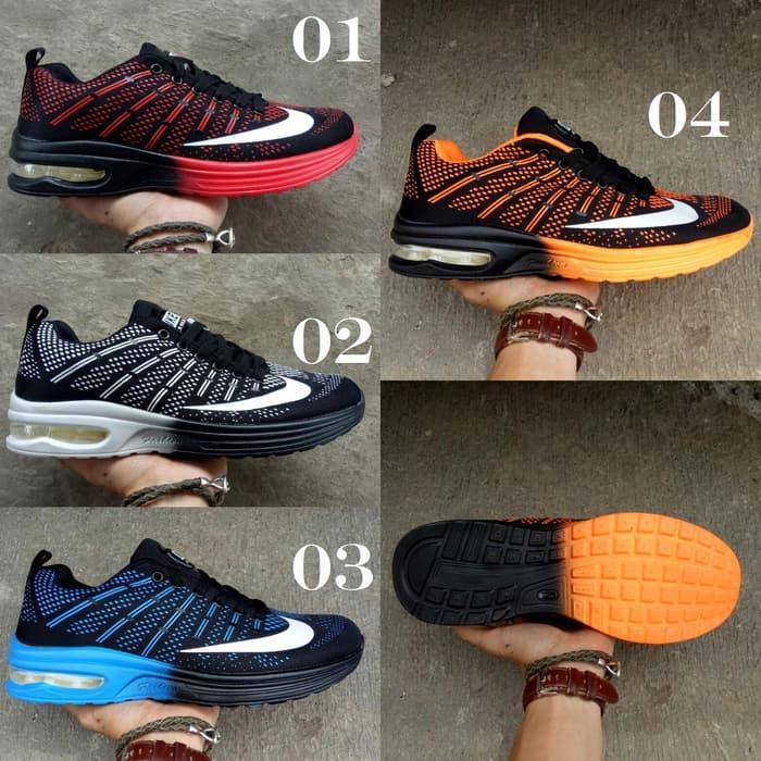 Fitur Sepatu Running Sport Nike Airmax Flyknit Skin 9v1ajt Dan Harga ... f56b5279c2