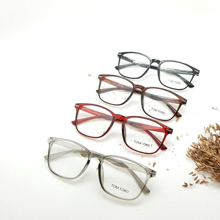 Fitur Terbaru Frame Kacamata Minus Tom Ford 8108 Pria Wanita Hitam ... 116b1ea333