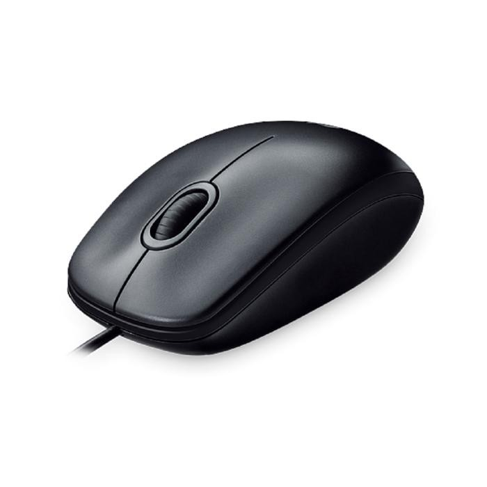 Mouse Logitech Wired M100R Optical Comportable